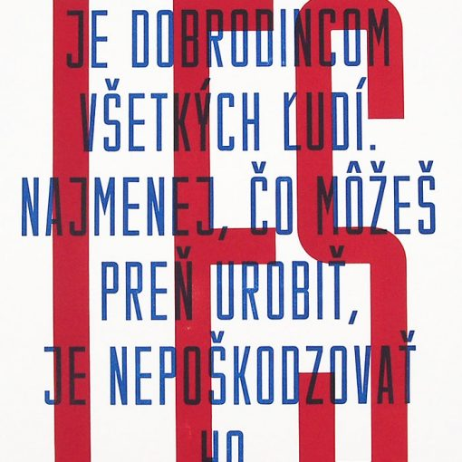 Les - Ondrej Jób, A2 - Pressink / grafika