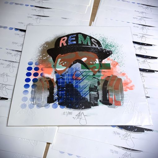 Bust-art - Rems / grafika