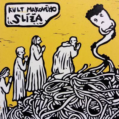 Kult makového slíža - Saturejka / grafika