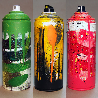 Streetart Spray Can