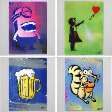 Street Art Stuff – autentické umenie z ulice pre deti aj dospelých