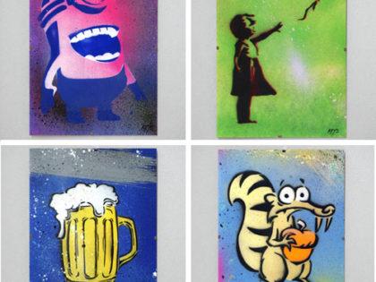 Street Art Stuff je ručné maľované umenie z ulice pre deti aj dospelých