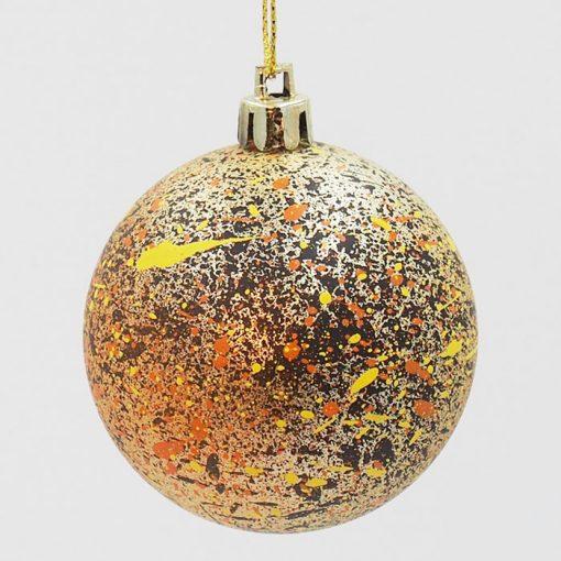Vianočné gule Streetart #19-11 / sada 6ks
