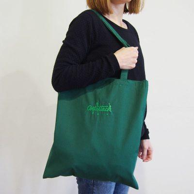Zelená plátená taška ArtAttack