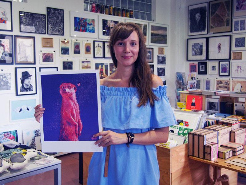 Tina Minor v ArtAttack Shope © ArtAttack
