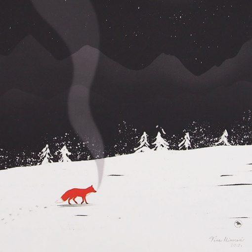 Zimná rozprávka - Tina Minor / grafika
