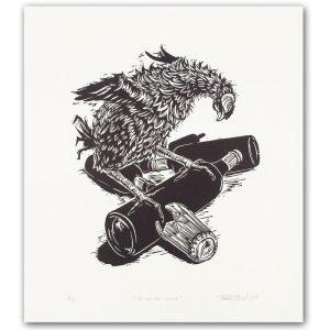 Linorytové grafiky od Tomáša Klepocha