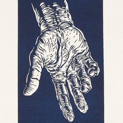 Brotherhood - Tomáš Klepoch / linorytová grafika