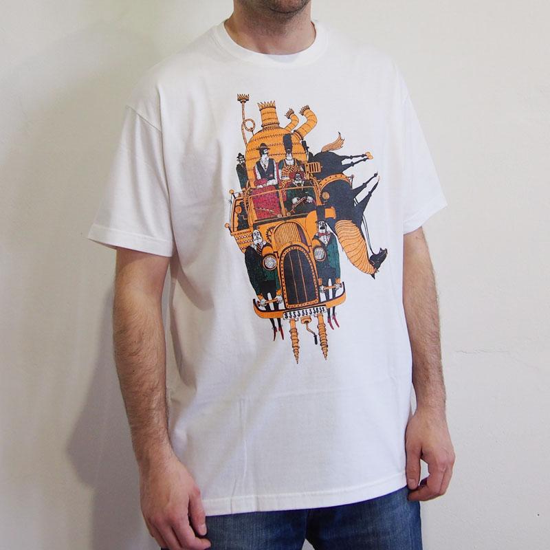 c626499e7d33 Biele pánske tričko Nezmyslostroj