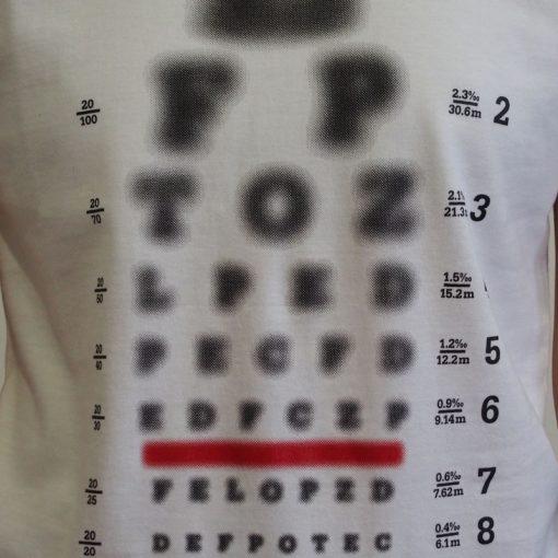Biele dámske tričko Yaxplus Optic