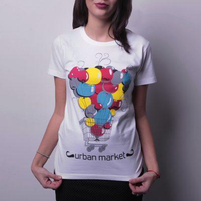 Urban market damske tričko