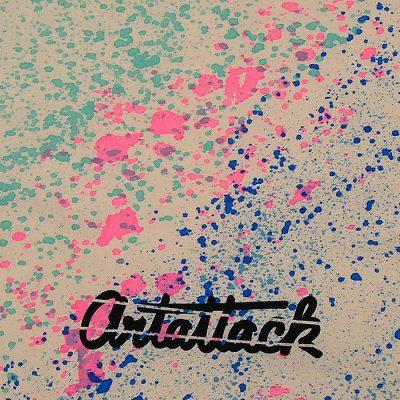 Natural Streetart vak s modro tyrkysovým dizajnom #1