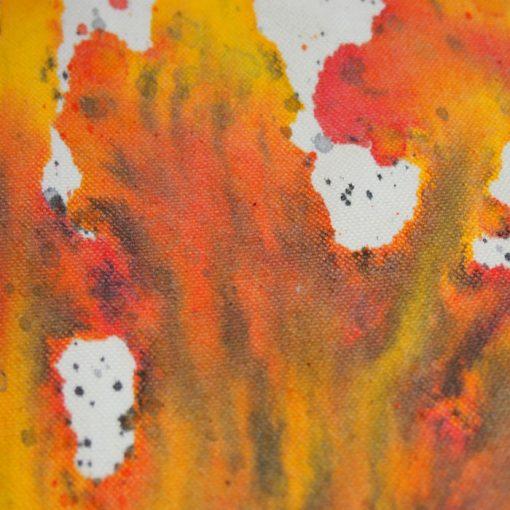 Natural Streetart vak s červeno žltým dizajnom #4