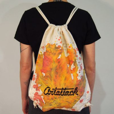 Natural Streetart vak s červeno žltým dizajnom #7
