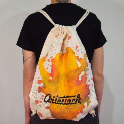 Natural Streetart vak s červeno žltým dizajnom #9