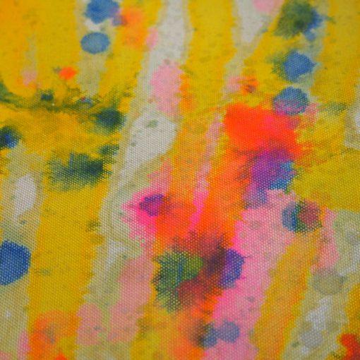 Sivý Streetart vak s farebným dizajnom #2