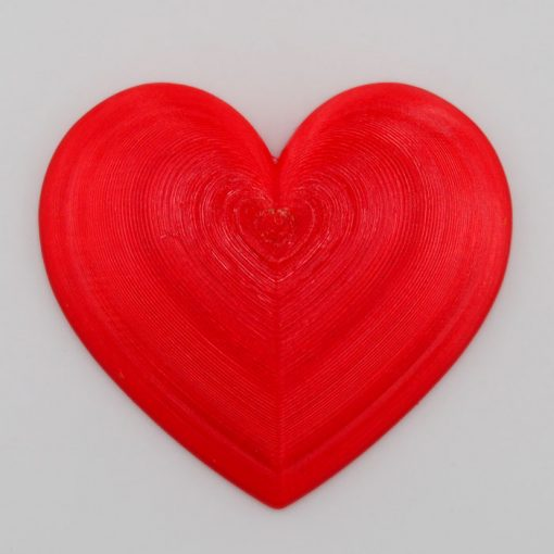 Srdce červené - Viktor Kováč / brošňa