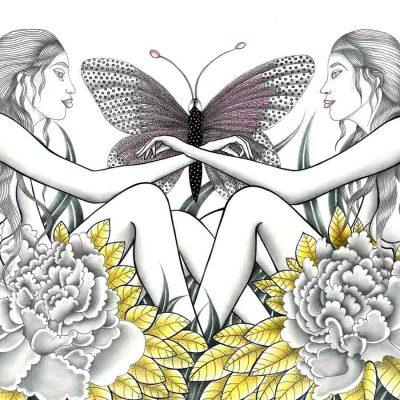 vulnerability katarina branisova illustrations grafika