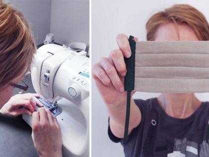 Ako šijeme a vyrábame bavlnené rúška na tvár
