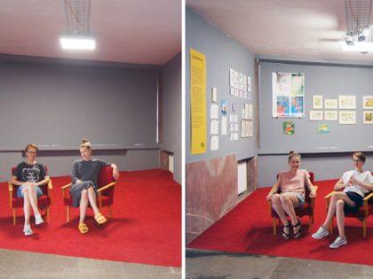 Výstava E.J. vo výklenku: Dôležité sú knižky, ktoré sú zábavne napísané a nakreslené pre radosť