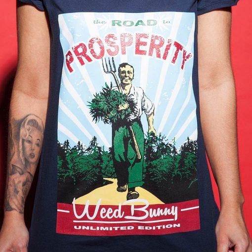 Dámske tričko WeedBunny