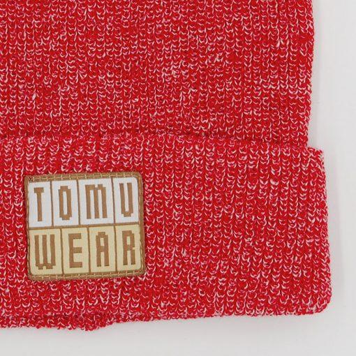 Červená čiapka TomuWear