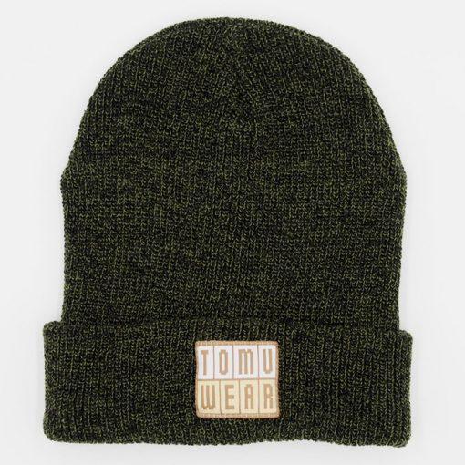 Tmavo zelená čiapka TomuWear