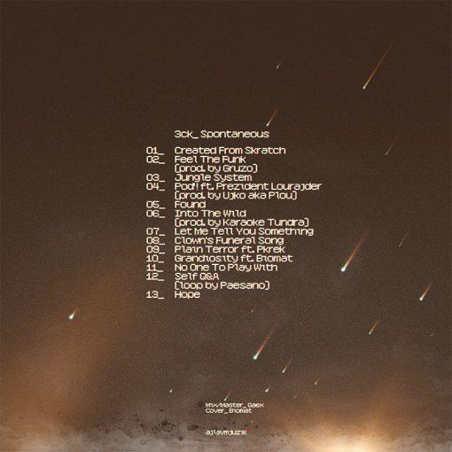 3ck - Spontaneous LP