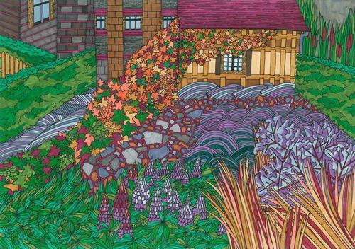 Alica Gurínová – ilustrácie a maľba