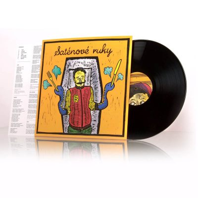 Saténové Ruky - Bozkávam LP album 2015