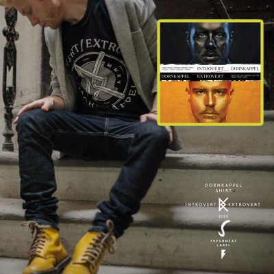 Dornkappel - Introvert / Extrovert PACK CD+tričko