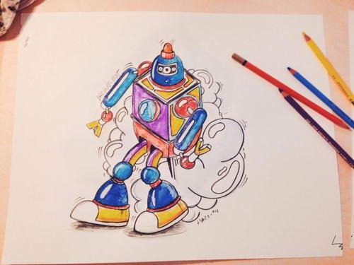 Grafický dizajnér HAZI kreslí