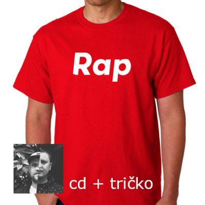 IF - Rap CD + červené tričko