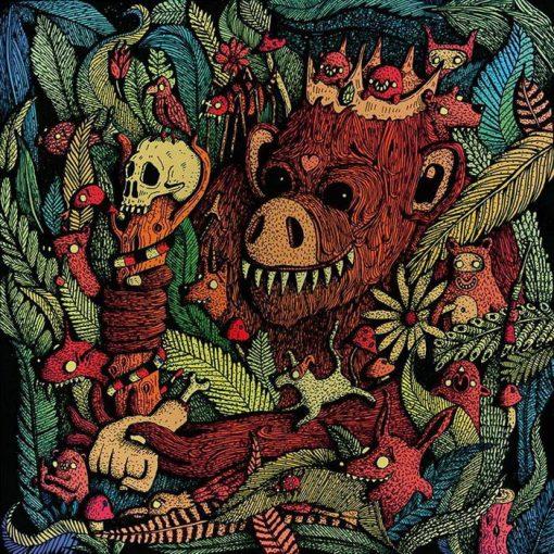 Mc Gey & Dj Fatte - Opičí Král Vrací Úder CD