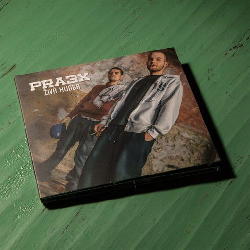Pra3x - Živá hudba CD