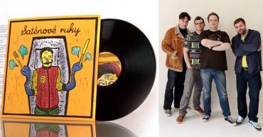 Saténové Ruky: album Bozkávam 2015 CD+LP