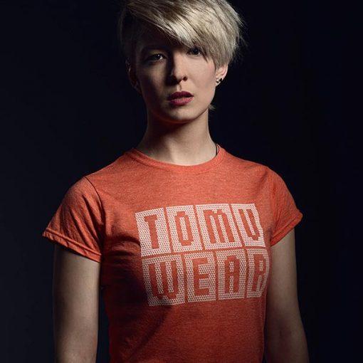 TomuWear - Knitted Orange tričko
