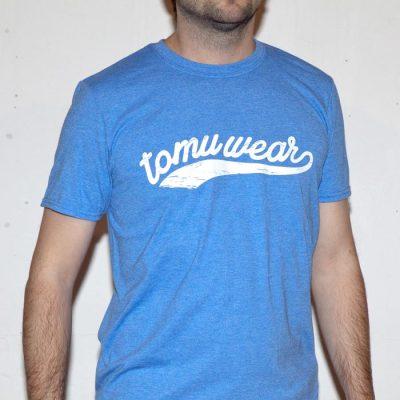 TomuWear - Classic Wave Blue tričko pánske