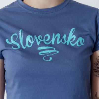 Dámske tričko Slovensko