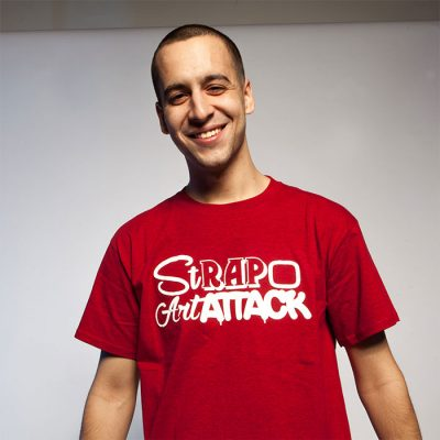 Strapo tričko Rap Attack