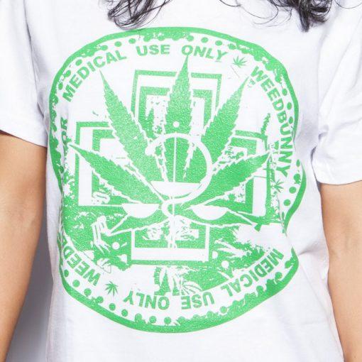 Medical use only biele pánske tričko