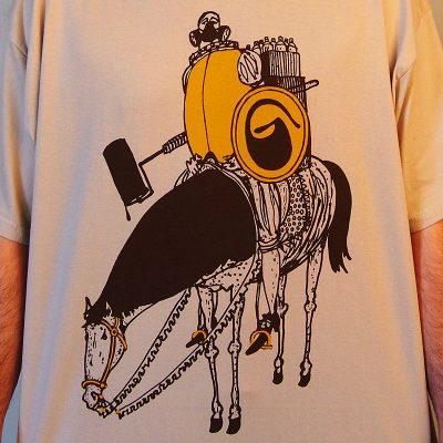 Writers cavalery pánske tričko