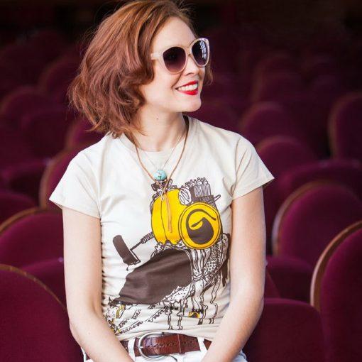 Writers cavalery dámske tričko
