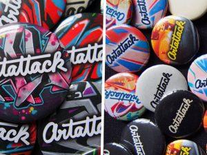 Darček pre zákazníkov: Originálny odznak ArtAttack!