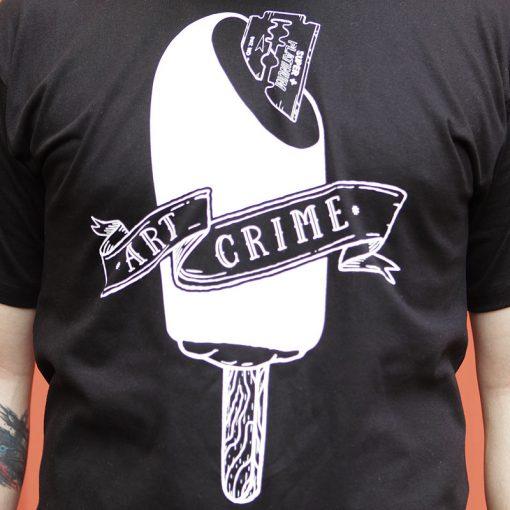 čierne tričko razor blade