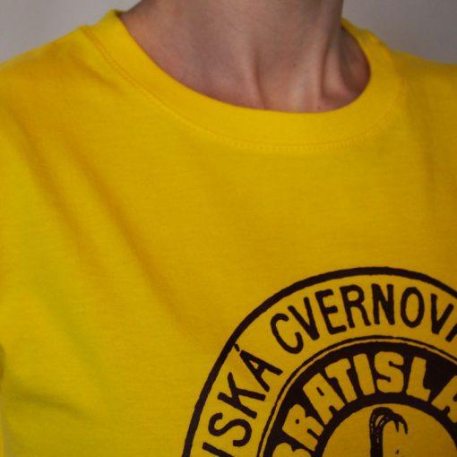 Dámske žlté tričko Cvernovka BCT