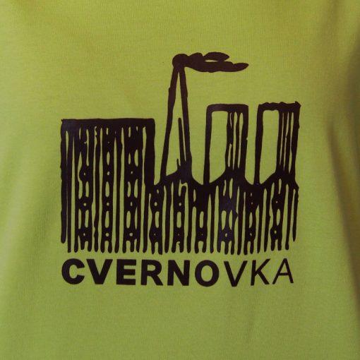 Dámske zelené tričko Cvernovka BCT (kópia)