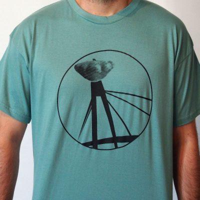 Zelené pánske tričko FRL BA Patizonis