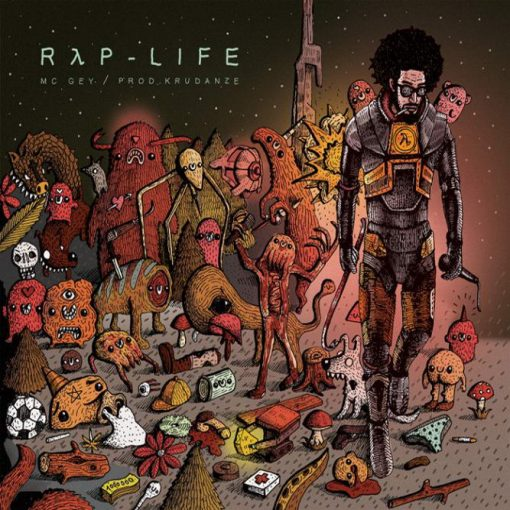 Mc Gey - Rap Life CD