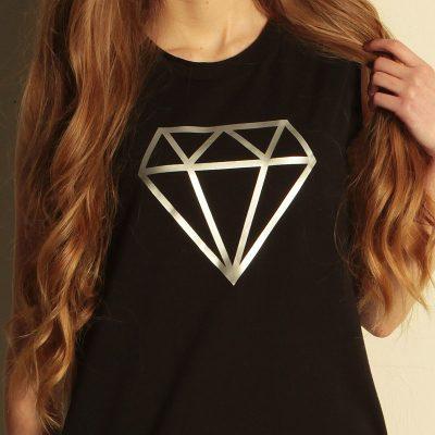 šaty fundaluka vzor diamant